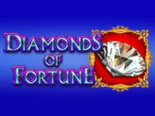 На зеркале Вулкана автомат Diamonds Of Fortune бесплатно
