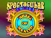 Автомат на деньги Spectacular Wheel Of Wealth от Вулкана